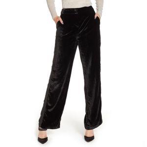 Chelsea28 Velvet Wide Leg Trousers
